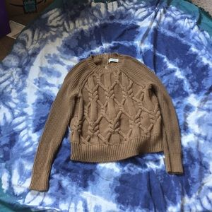 Abercrombie Sweater with Zipper in the back